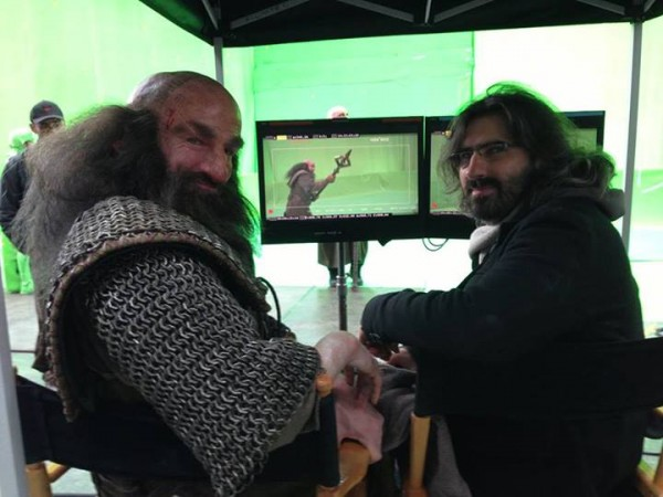 the-hobbit-set photo graham mctavish
