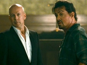 Bruce-Willis-Sylvester-Stallone Expendables photo