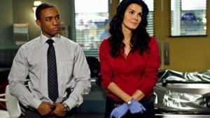 "Lee Thompson Young and Angie Harmon in ""Rizzoli & Isles"" photo"