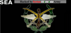 SEA Syrian Electronic Army hackers logo