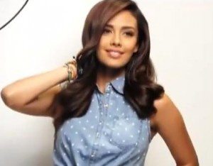 Megan Young Image/Video Screen Shot