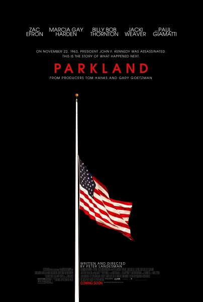 parkland-poster-flag half mast JFK assassination