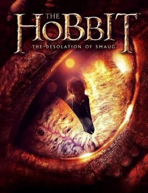 smaugs-eye the hobbit desolation of smaug promo art
