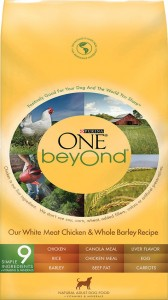 Purina ONE beyOnd Our White Meat Chicken & Whole Barley Recipe Adult Dry Dog Food  Image/FDA