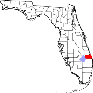 Martin County Florida map Image/David Benbennick