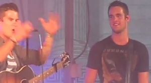 OBB performing live at Rock the Universe 2013 photo screenshot YouTube video