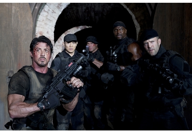 The Expendables cast photo