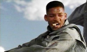 Will Smith Independence Day Welcome to Earth line