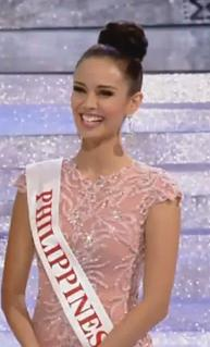 Megan Young during the Q&A Image/Video Screen Shot