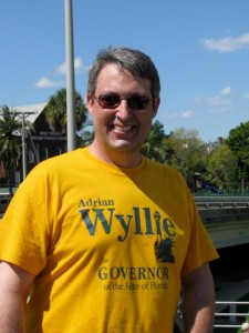Adrian Wyllie, the 2014 Libertarian candidate for Florida governor