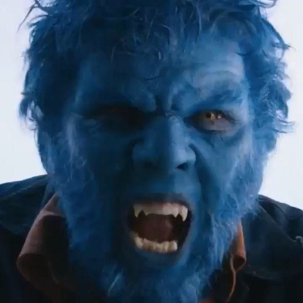 Nicholas Hoult details Beast transformations in 'X-Men ...