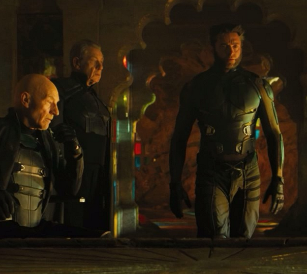 XMen Days of Future Past photo Prof X Magneto Wolverine