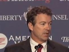 Rand Paul Image/Video Screen Shot