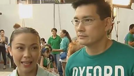 Jodi Sta. Maria and Richard Yap Image/Video Screen Shot