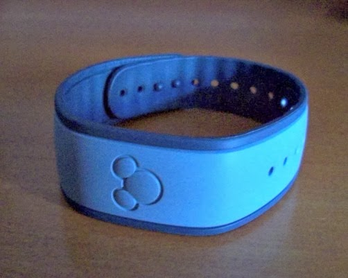 Disney resort RFID bracelet photo Judy Aron