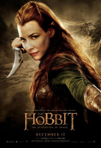tauriel new-character-posters-for-the-hobbit-the-desolation-of-smaug