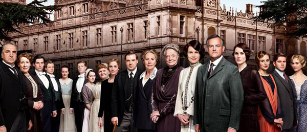 Downton Abbey season 4 cast photo