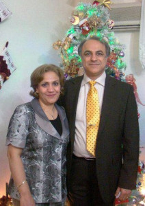 Pastor Farhad Sabokrouh (right) was released on Dec. 4, 2013 along with another church member, but his wife, Shahnaz (left), remains in prison.