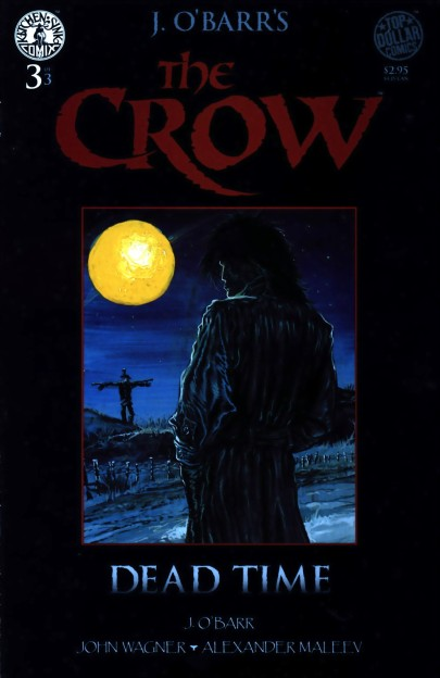The-Crow-Comic-Book-Cover James OBarr