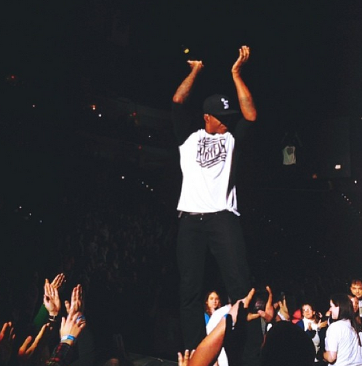 Lecrae, Winter Jam 2014 photo via twitter @winterjamtour