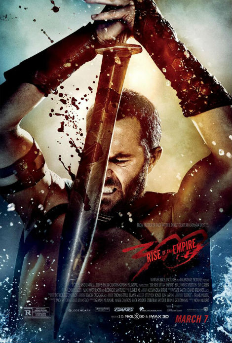 Sullivan Stapleton 300 Rise of an Empire movie poster