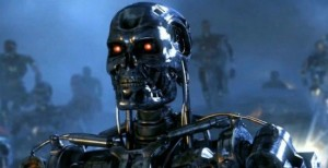 Terminator robot close photo Terminator Genesis
