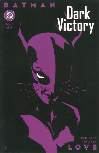 Batman_Dark_Victory_5 Catwoman cover