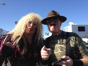 Dee Snider Twisted Sister Sgt Slaughter