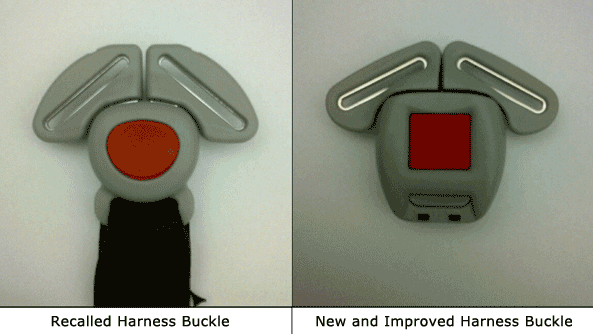 Graco car seat recall buckles faulty