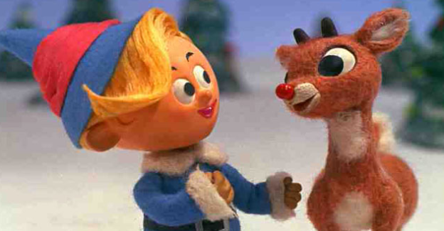 Hermie and Rudolph the Red nosed reindeer photo