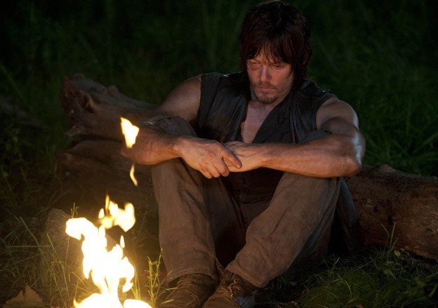 Norman Reedus Daryl The Walking Dead season 4 photo