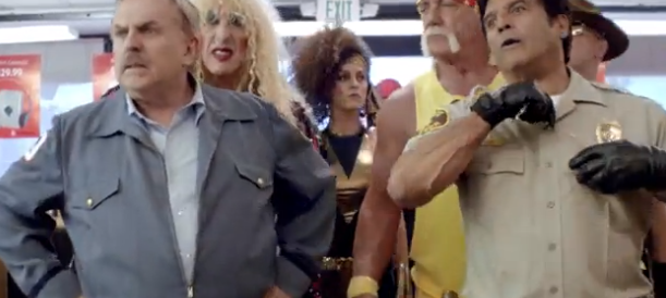 Radioshack Super Bowl ad 80s references