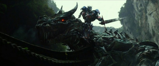 transformers age of extinction trailer photo Dinobot dragon