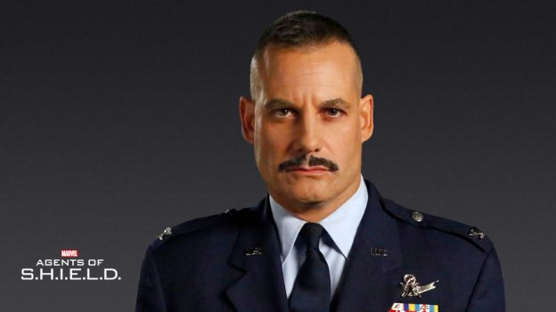 Adrian Pasdar as Glenn Talbot Agents of SHIELD