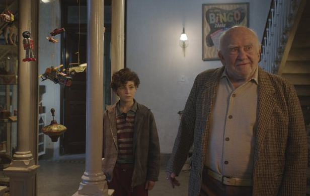 Ed asner in the Games Maker film