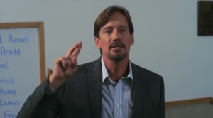 Kevin Sorbo as professor in Gods not dead