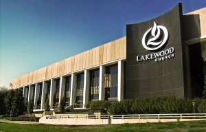Lakewood Church in Houston, Texas photo by Hequals2henry via wikimedia commons