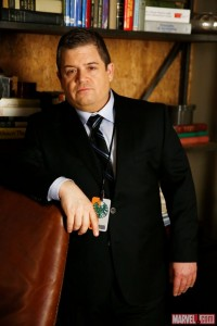 Patton Oswalt as Eric Koenig Marvel agents of SHIELD