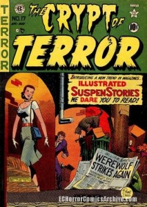 The Crypt of Terror 17 comic book cover