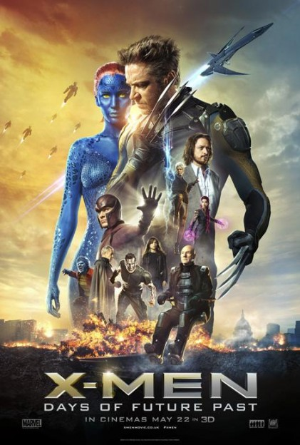 xmen days of future past all star cast poster