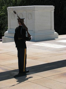 Tomb of the Unknowns at Arlington National Cemetery. Image/RebelAt
