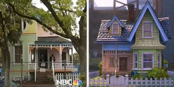 A major house makeover can draw attention to your home  photo/ screenshot NBC coverage