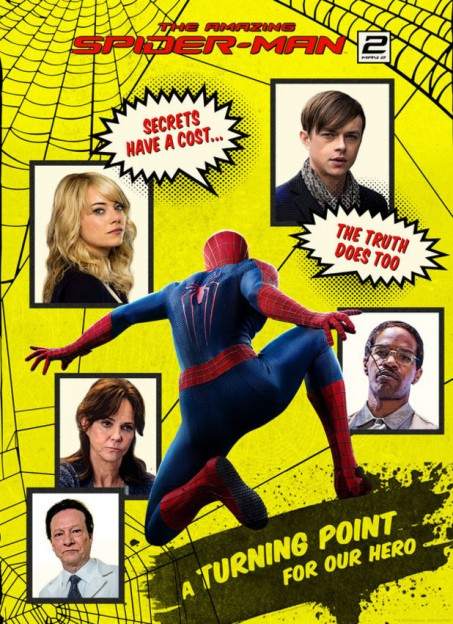 The new 'Amazing Spider-Man 2' poster pays homage to the classic Spidey comic book cover