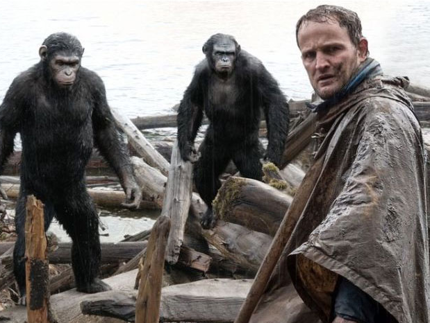 apes Caesar Jason clarke dawn of the planet of the apes