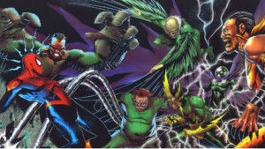 spider-man vs sinister six marvel comics photo