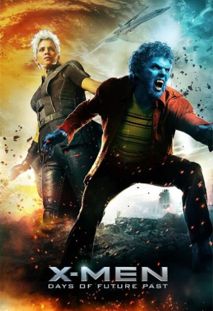 x-men-days-of-future-past-beast-storm-poster halle berry nicholas hoult