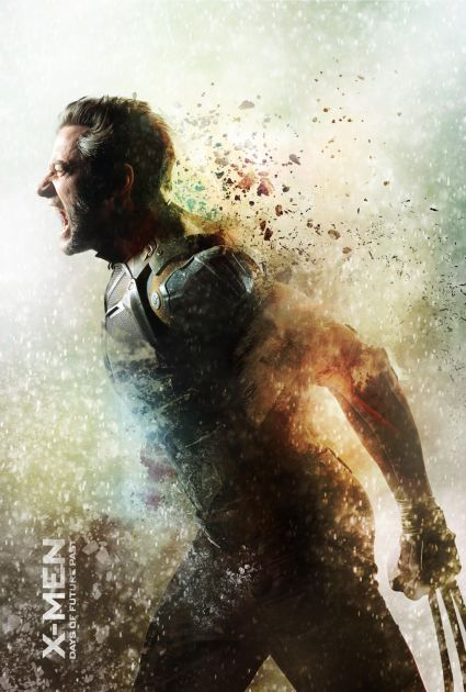 x-men-days-of-future-past-wolverine-poster hugh jackman