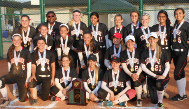 The 2014 Florida State (8A) girls softball champsion Bloomingdale Bulls