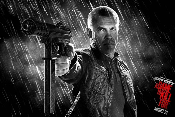 Josh Brolin Sin City A Dame to Kill For poster