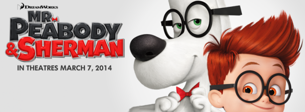 Mr Peabody and Sherman banner poster